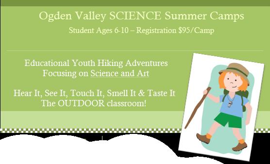 Ogden Valley SCIENCE Summer Camps, Eden UT